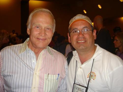 Buzz Aldrin and JW Najarian