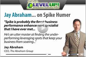 Jay abraham spike humer