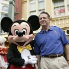 Lee Cockerell and Mickey Mouse