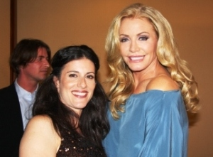 Lisa Schneiderman and Shannon Tweed