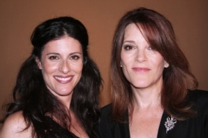 Lisa Schneiderman and Marianne Williamson