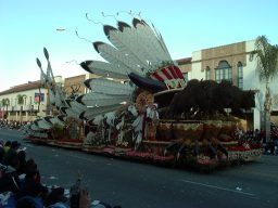 Rose Parade 2001 Float