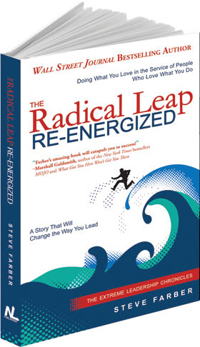 book radical leap re-energized Steve Farber
