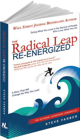 book radical leap re-energized Steve Farber