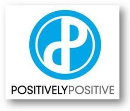 logo positively positive