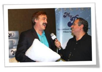 MyPillow Michael Lindell and JW Najarian