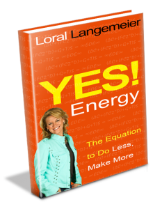 book loral langemeier yes energy