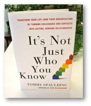 book its not just who you know tommy spaulding