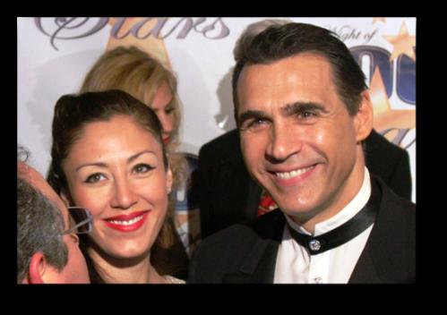 Adrian Paul  and alexandra tonelli with JW Najarian