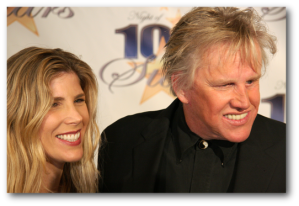 Gary Busey and Stephanie Sampson