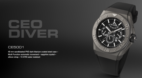 pic watch twsteel CEO Diver