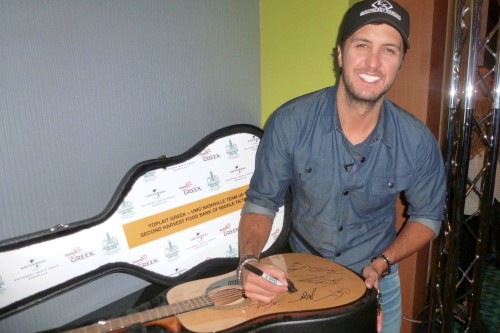 Luke Bryan - Yoplait Greek & Universal Music Group Nashville Team Up to Help Fight Hunger