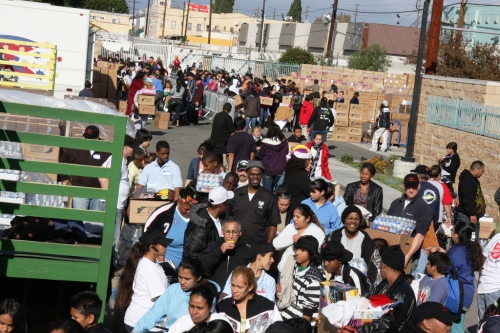 Miracle on South Central 2008 crowd
